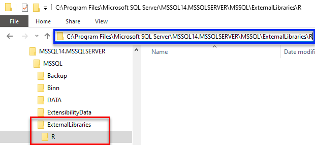 Installing R Packages in SQL Server Machine Learning Services - III